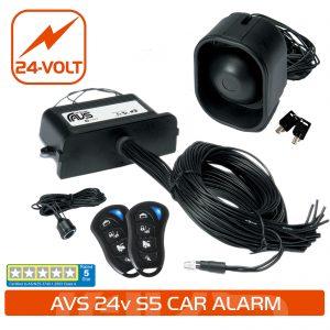 24 Volt Car Alarms